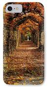 Hornbeam Alles, Birr Castle, Co Offaly IPhone Case by The Irish Image Collection
