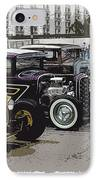 Hot Rod Row IPhone Case by Steve McKinzie
