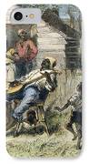 In Old Virginny, 1876 IPhone Case by Granger