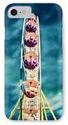 infrared Ferris wheel IPhone Case by Stelios Kleanthous