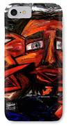 Is 3 Really A Crowd IPhone Case by Karen Elzinga