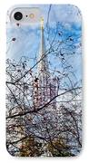Jordan River Temple Branches IPhone Case by La Rae  Roberts