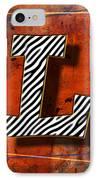 L IPhone Case by Mauro Celotti