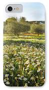 Landscape With Daisies IPhone Case by Carlos Caetano