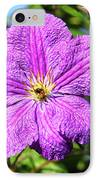 Last Summer Bloom IPhone Case by Mariola Bitner