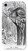 Lincoln Cartoon, 1862 IPhone Case by Granger