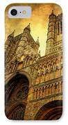Lincoln Cathedral IPhone Case by Yhun Suarez