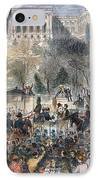 Lincoln Inauguration IPhone Case by Granger