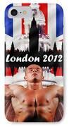 London 2012 IPhone Case by Sharon Lisa Clarke