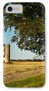 Lonely Silo 4 IPhone Case by Douglas Barnett