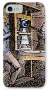 Lovejoys Printing Press IPhone Case by Granger