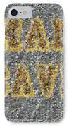 Man Cave Coin Mosaic IPhone Case by Paul Van Scott