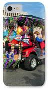 Mardi Gras Clowning IPhone Case by Steve Harrington