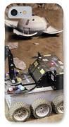 Mars Rover Testing IPhone Case by Ria Novosti