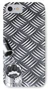 Mechanical Socket Background IPhone Case by Richard Thomas