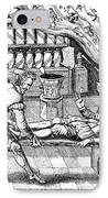 Medical Purging, Satirical Artwork IPhone Case by