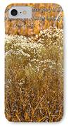 Men Are Like Grass IPhone Case by Carolyn Marshall