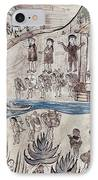 Mexico Indians C1500 IPhone Case by Granger