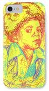 Michael Jackson Abstraction IPhone Case by Kenal Louis