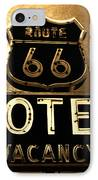 Midnight On 66 IPhone Case by David Lee Thompson