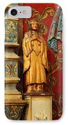 Mission San Xavier Del Bac - Interior Detail II IPhone Case by Suzanne Gaff