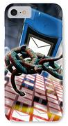 Mobile Telephone Hate Mail IPhone Case by Victor Habbick Visions