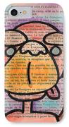 Monkey Business IPhone Case by Jera Sky