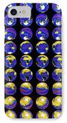 Multiple Satellite Images Of The Earth's Biosphere IPhone Case by Dr Gene Feldman, Nasa Gsfc