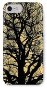 My Friend - The Tree ... IPhone Case by Juergen Weiss