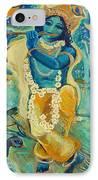 My Krishna Is Blue IPhone Case by Ashleigh Dyan Bayer
