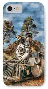 Of Mountain And Machine IPhone Case by Jeff Kolker