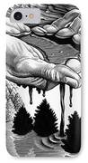 Oil Pollution IPhone Case by Bill Sanderson