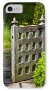 Old Garden Entrance IPhone Case by Heiko Koehrer-Wagner