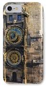 Old Town Hall Clock IPhone Case by Jeremy Woodhouse