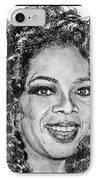 Oprah Winfrey In 2007 IPhone Case by J McCombie