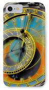 Orloj - Astronomical Clock - Prague IPhone Case by Christine Till