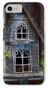 Ornamental Bird House IPhone Case by Douglas Barnett