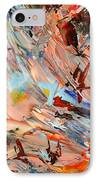 Paint Number 36 IPhone Case by James W Johnson