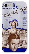 Palmy Days IPhone Case by Mel Thompson