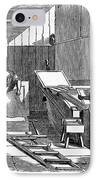 Papermaking, 1833 IPhone Case by Granger