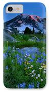 Paradise Garden Dawning IPhone Case by Mike  Dawson