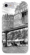 Paris: Tramway, 1880s IPhone Case by Granger