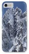 Peaks Of Takhinsha Mountains IPhone Case by Matthias Breiter
