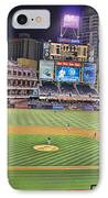 Petco Park San Diego Padres IPhone Case by RJ Aguilar