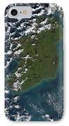 Phytoplankton Bloom Off The Coast IPhone Case by Stocktrek Images