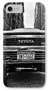 Pick Up Truck On A New York Street IPhone Case by John Farnan
