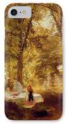 Picnic IPhone Case by Charles James Lewis