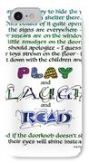 Play Laugh Read IPhone Case by Judy Dodds