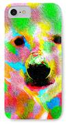 Polychromatic Polar Bear IPhone Case by Anthony Caruso