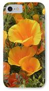 Poppies (eschscholzia Californica) IPhone Case by Tony Craddock
